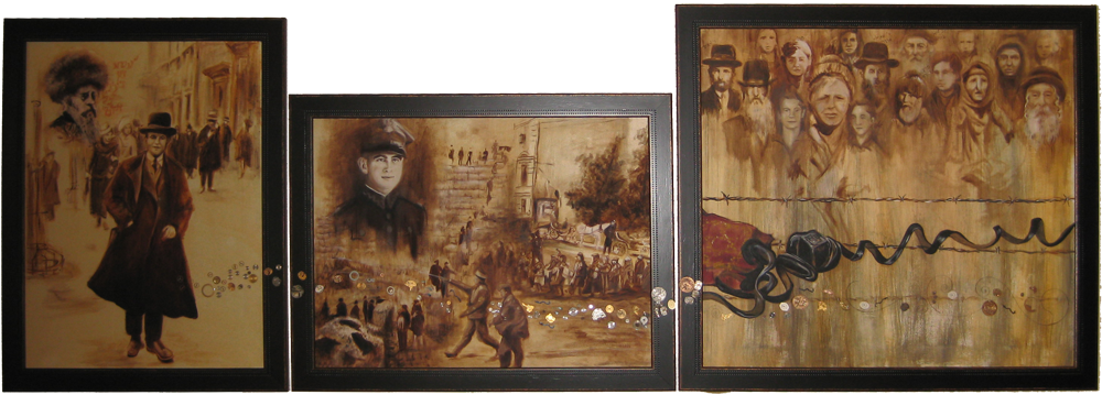 Oil Painting Memory Montage